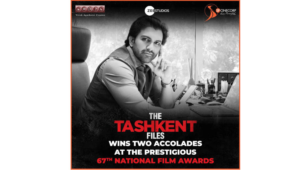 Sharad Patel riding high on the success of 'The Tashkent Files' at the National Awards