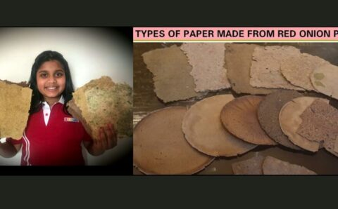 India's Young Environmental Hero paves a path for a Sustainable Future with her Eco-Friendly Vegetable Paper