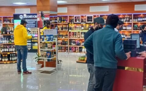 G-Town Wines, First Women's Friendly North India's Biggest Wine Shop in Gurgaon Haryana