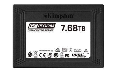 Kingston Ships DC1500M Data Center U.2 NVMe SSD