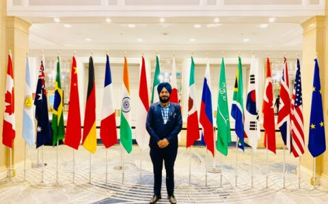 Karanvir Singh, a Global Indian Representing the Nation at Eastern Economic Forum in Russia