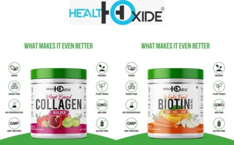 HealthOxide Launches Two New Products for Healthy Hair, Skincare