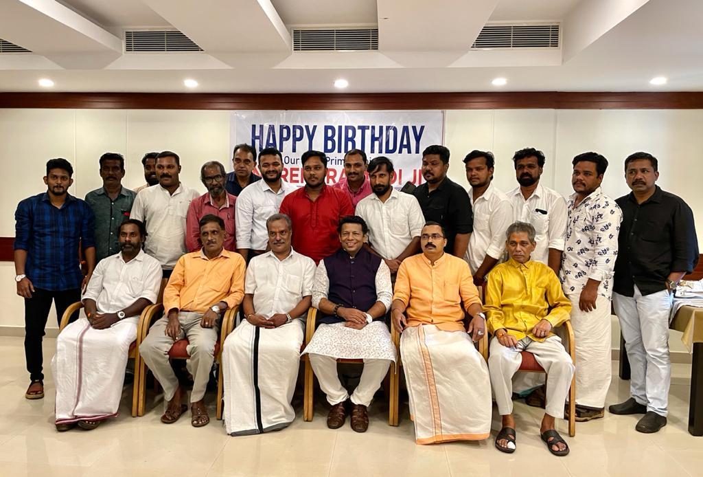 Khans Media City's President, Dr. Mohammed Khan, Celebrated Prime Minister Shri Narendra Modi's Birthday with under Privileged Children