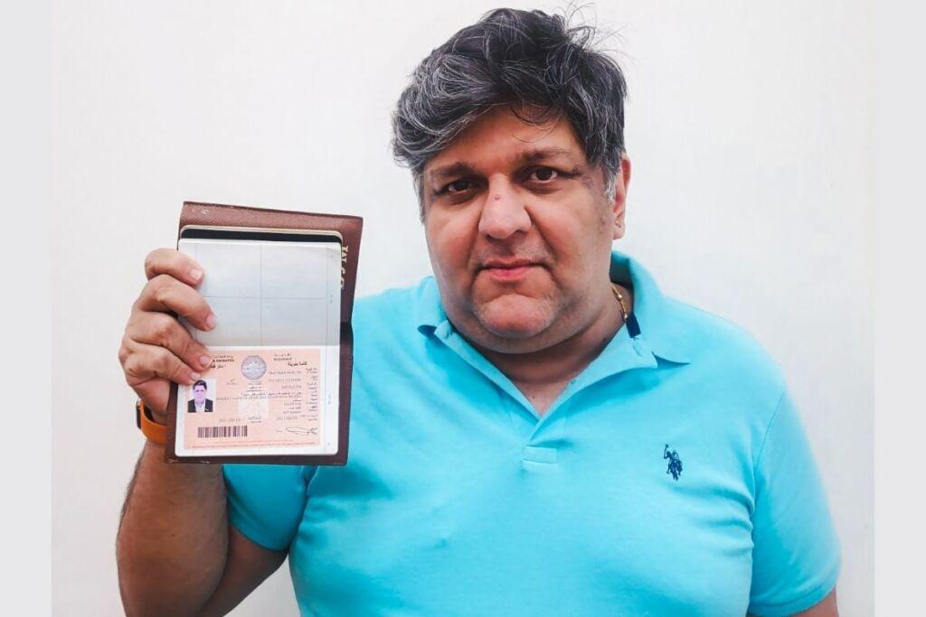 Renowned Indian Businessman, Philanthropist in Dubai Receives UAE Golden Visa