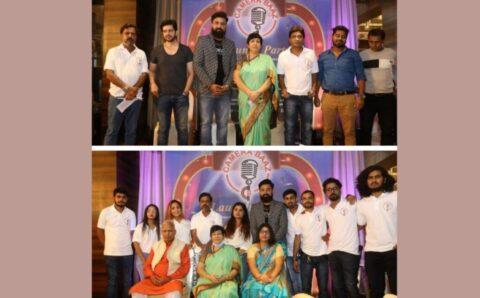 Versova MLA Bharti Lavekar inaugurates Camerabaaz YouTube Channel, CEO Sumit Kumar Tiwari felicitates Sunil Pal and others