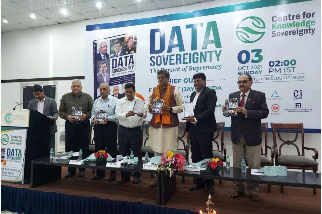 'Ownership and consent for data collection should be regulated', says Baijayant (Jay) Panda at re-launch of Data Sovereignty book