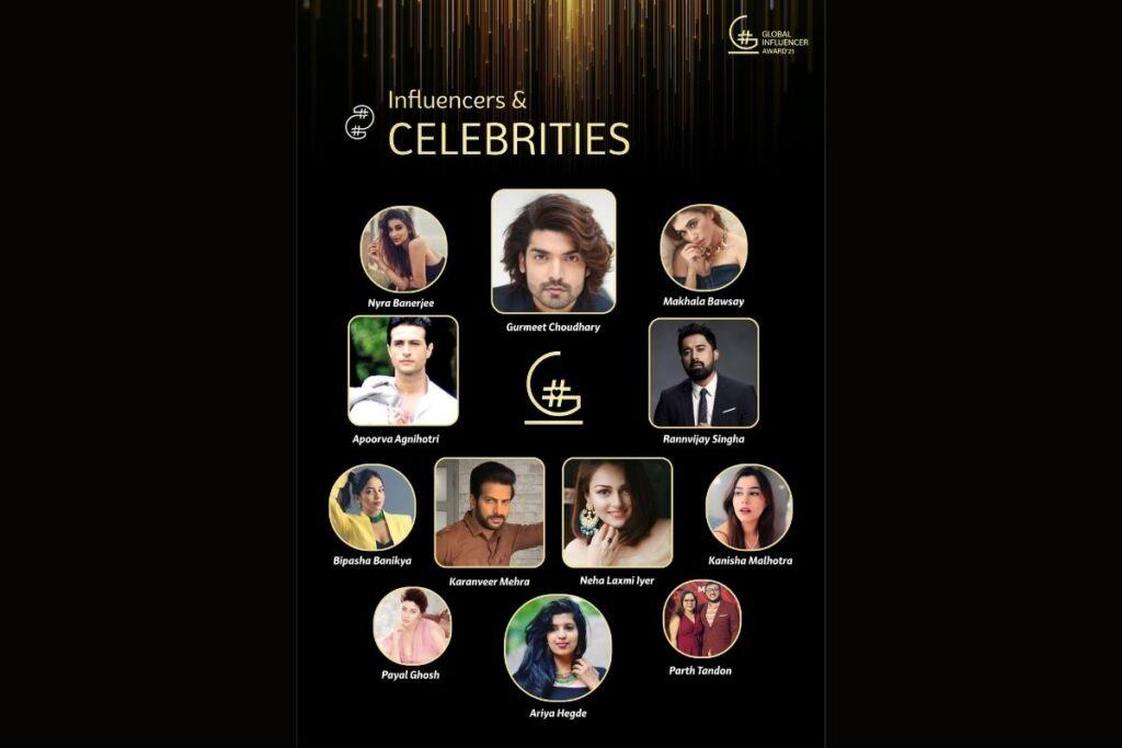 Born Event and Entertainment Ltd Launches Curtain Raiser for the Global Influencer Award' 21